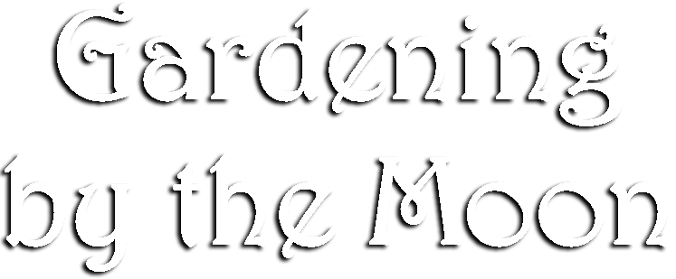 Gardening by the Moon Logo