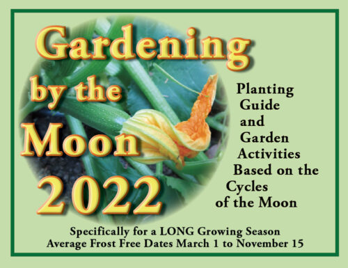 Gardening by the Moon 2022 cover